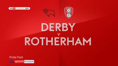 Derby 0-1 Rotherham