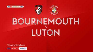 Bournemouth 0-1 Luton