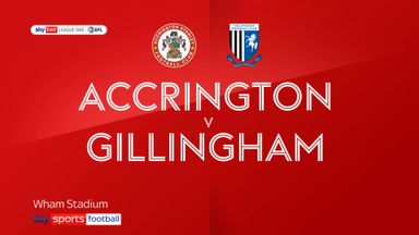 Accrington 0-1 Gillingham