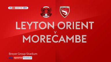 Leyton Orient 2-0 Morecambe