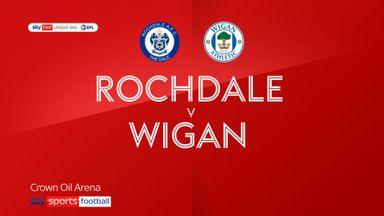 Rochdale 3-3 Wigan