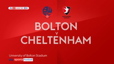 Bolton 1-1 Cheltenham