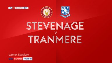Stevenage 0-0 Tranmere