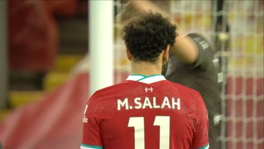 Salah shot deflected wide (62)