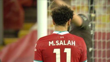 Salah shot deflected wide (62)