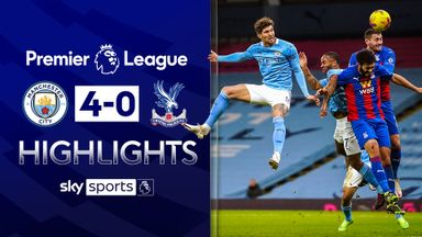 Stones double helps City cruise past Palace