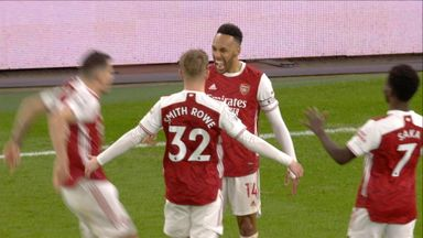 Aubameyang breaks the deadlock! (50)