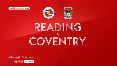 Reading 3-0 Coventry