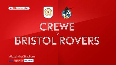 Crewe 3-2 Bristol Rovers