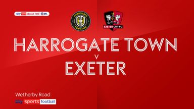 Harrogate 0-0 Exeter