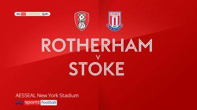 Rotherham 3-3 Stoke