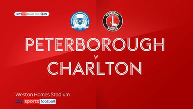 Peterborough 2-1 Charlton