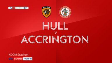 Hull 3-0 Accrington