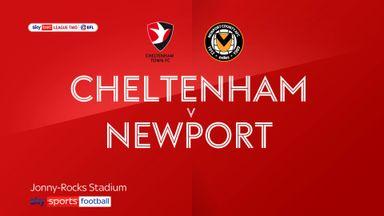 Cheltenham 1-1 Newport