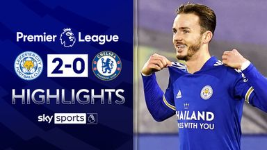 Maddison stars as Leicester beat Chelsea