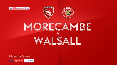 Morecambe 1-1 Walsall
