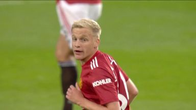 'Van de Beek must bide his time at Man Utd'