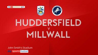 Huddersfield 0-1 Millwall