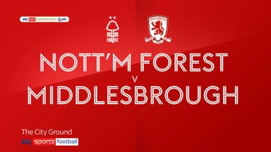 Nottingham Forest 1-2 Middlesbrough