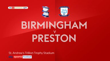 Birmingham 0-1 Preston