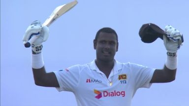 Mathews gets to 11th Test century