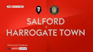 Salford 2-2 Harrogate Town