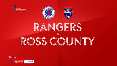 Rangers 5-0 Ross County
