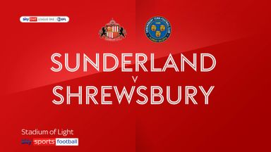Sunderland 1-0 Shrewsbury