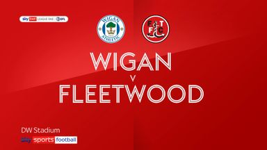 Wigan 0-0 Fleetwood