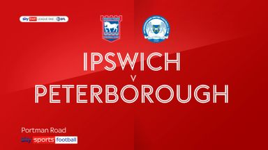 Ipswich 0-1 Peterborough