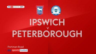 Ipswich 0-1 Peterborough
