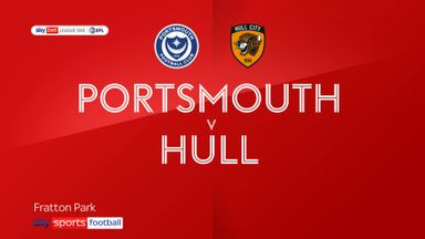 Portsmouth 0-4 Hull