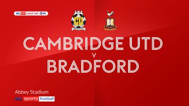 Cambridge 0-0 Bradford