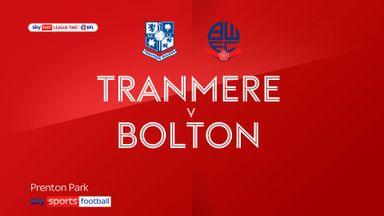 Tranmere 2-1 Bolton