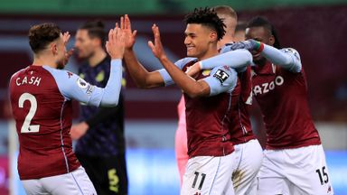 HT Aston Villa 2-0 Newcastle
