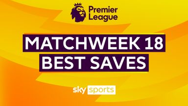 PL Best Saves: Matchweek 18