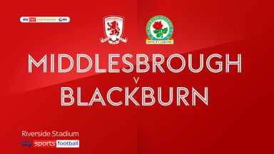 Middlesbrough 0-1 Blackburn