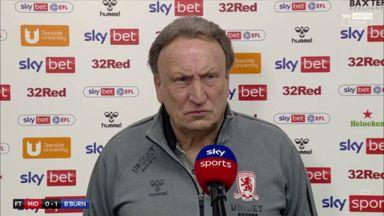Furious Warnock: It's an absolute travesty