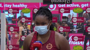 Quashie: I left everything on court
