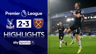 Soucek stars as West Ham win at Palace
