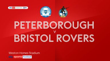 Peterborough 0-0 Bristol Rovers
