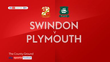 Swindon 0-2 Plymouth
