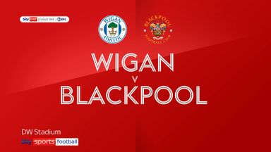 Wigan 0-5 Blackpool