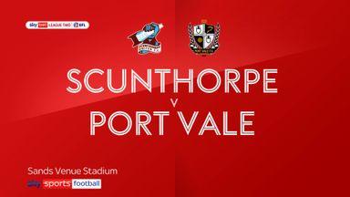 Scunthorpe 2-0 Port Vale