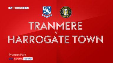 Tranmere 3-2 Harrogate