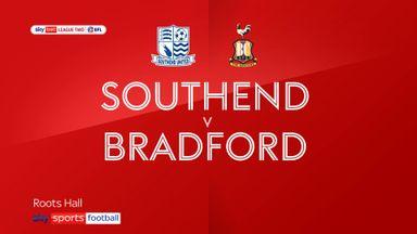 Southend 1-3 Bradford