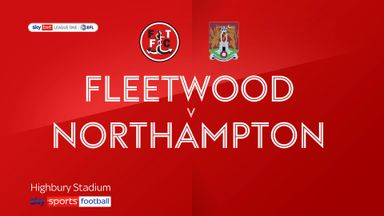 Fleetwood 0-0 Northampton
