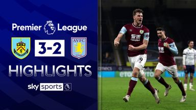 Burnley come back twice to stun Villa