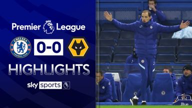 Tuchel's Chelsea held by Wolves