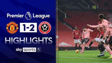 Sheff Utd shock Man Utd at Old Trafford